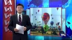 VOA连线:中国阻止绘有藏独旗帜的热气球