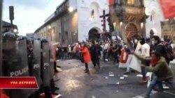 Người ủng hộ Julian Assange xung đột ở thủ đô Ecuador