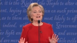 Clinton Speculates on Why Trump Hasn't Released Tax Returns