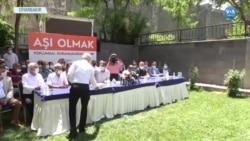 Diyarbakır'da Aşı Karşıtlığına Karşı Ortak Mücadele
