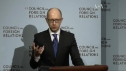 Яценюк у США: Мир дадуть лише переговори США-ЄС-Україна-Росія