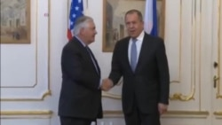 Tillerson Spars With on Ukraine Conflict
