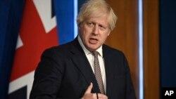بوریس جانسون، نخست وزیر بریتانیا