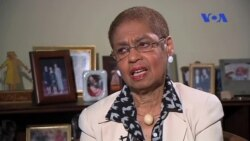 VOA Persian interview with congresswoman Eleanor Holms Norton