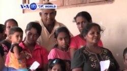 uri Sri Lanka abakozweho n'imyuzure bugarijwe n'icyorezo cy'indwara zituruka ku mazi mabi