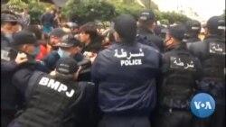 Échauffourées à Alger lors d'une manifestation pour les 2 ans du Hirak