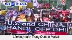 Biểu tình kêu gọi cắt đứt quan hệ Philippines-TQ, Mỹ