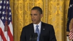 奥巴马开始第二个总统任期