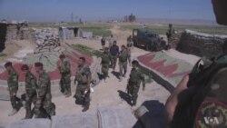 Iraqi Kurdish Peshmerga on Front Line of Battle for Mosul