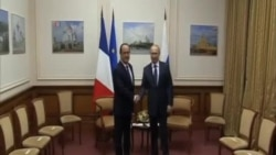 奧朗德普京會晤討論烏克蘭問題