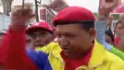 Fiesta en honor a Chávez