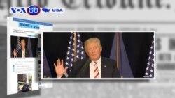 Ông Trump tỏ ý nghi ngờ về độ tin cậy của tình báo Mỹ (VOA60)