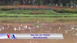 Rác Đà Lạt trong mùa mưa bão