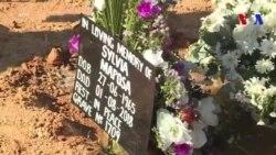 Funérailles d'une victime de violences postélectorales au Zimbabwe (vidéo)