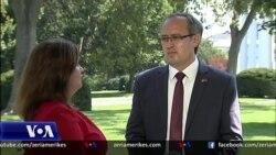 Intervista me Kryeministrin e Kosovës në Shtëpinë e Bardhë