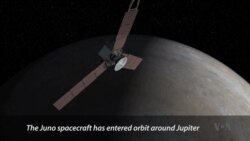 NASA Probe Enters Jupiter Orbit