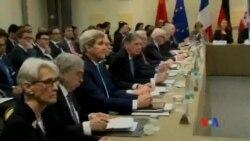2015-04-01 美國之音視頻新聞:最後期限已過世界六強國繼續與伊朗談判