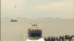 南韓繼續搜尋287名渡輪沉沒失蹤者