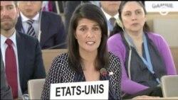 Правозащитники призывают США не выходить из Совета ООН по правам человека