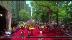 بزرگترین جشن سال در نیویورک توسط اهالی پورتوریکو برگزار می شود