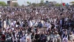 ارمان لونی کے چہلم پر پشتون تحفظ تحریک کا پشاور میں جلسہ