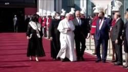 結束四天訪問行程 教宗周一飛離伊拉克