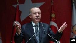Tổng thống Tayyip Erdogan.