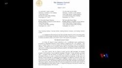 2019-04-16 美國之音視頻新聞: 美國司法部將於週四公布穆勒報告全文