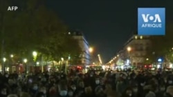 Paris: Incidents entre police et manifestants pro-migrants