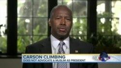 卡森坚持他对美国穆斯林的立场
