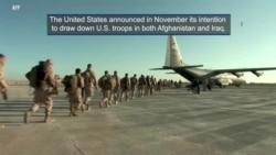 U.S. Troop Drawdown in Afghanistan and Iraq