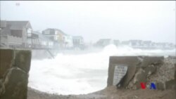 美國東岸狂風暴雨 造成5人喪生 (粵語)