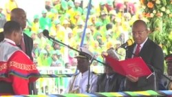 Rais mteule wa Zanzibar Hussein Mwinyi aapishwa