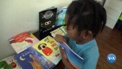 Livros de graça inspiram crianças de Washington DC