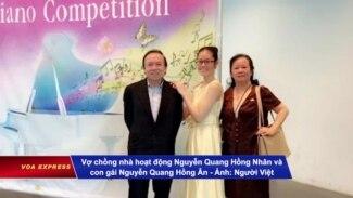 Vợ chồng nhà hoạt động Nguyễn Quang Hồng Nhân bị Đức trục xuất về VN