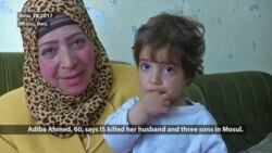 Iraqi Woman Struggles After IS Kills Her Husband, Sons