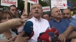 CHP Lideri 'Adalet' Yürüyüşüne Başladı