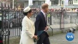 Commonwealth's Day : la famille royale britannique à Westminster