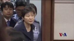 朴谨惠庭审否认全部指控
