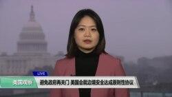 VOA连线(李逸华):避免政府再关门,美国会就边境安全达成原则性协议