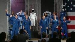 2018-08-04 美國之音視頻新聞: 美國太空總署選出九名宇航員乘坐商業太空艙