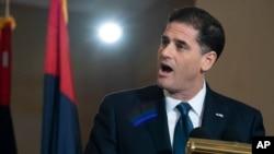 ران درمر، سفیر اسرائیل در آمریکا (عکس از آرشیو)