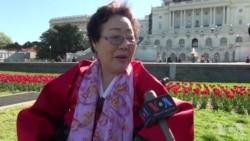 韩国慰安妇幸存者美国会前要安倍道歉