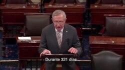 Senador Harry Reid habla sobre la reforma inmigratoria