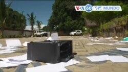 Manchetes mundo 8 Abril: 12 pessoas encontradas decapitadas após ataque reclamado pelo EI em Palma