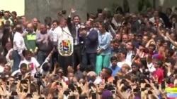 Juan Guaido Lanse yon Apèl pou Plis Manifestasyon nan Venezuela
