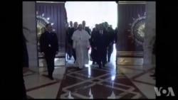 Le pape François en Egypte : rencontre avec le président al-Sissi (vidéo)