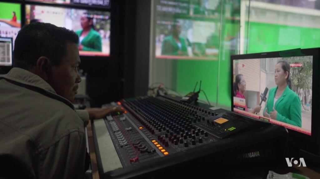 「自由媒體被打壓之際中柬紅紅火火合辦電視台」的圖片搜尋結果