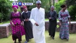 Perezida wa Nijeriya Muhammadu Buhari Wivuriza i Londre Yabwiye Intumwa za Guverinema ko Yakize