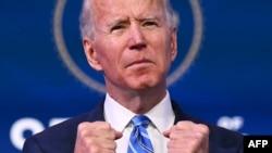 Joe Biden juramenta el 20 de enero de 2021 como el presidente número 46 de EE.UU.